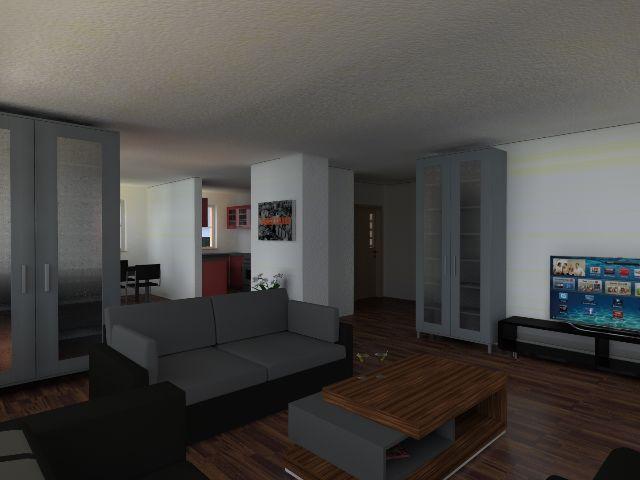 Einfamilienhaus Klassik 01 - Wohnbereich