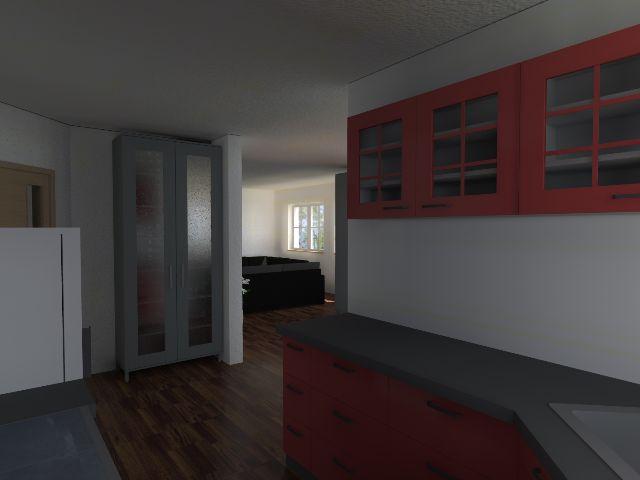 Einfamilienhaus Klassik 01 - Küchenbereich