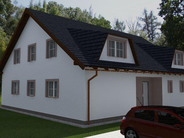 Einfamilienhaus Klassik 03 - Außenansicht