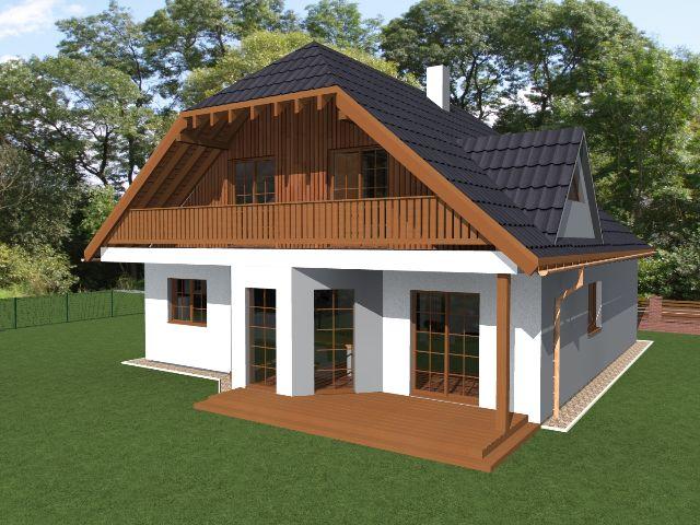 Einfamilienhaus Klassik 04 - Terrasse