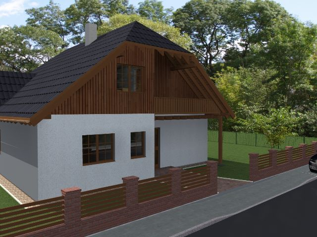 Einfamilienhaus Klassik 04 - Außenansicht
