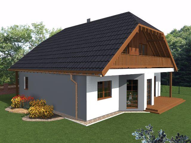 Einfamilienhaus Klassik 04 - Gartenansicht