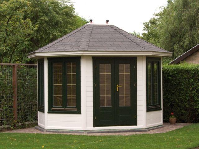 Pavillon Vernon 350 x 300 - Außenansicht