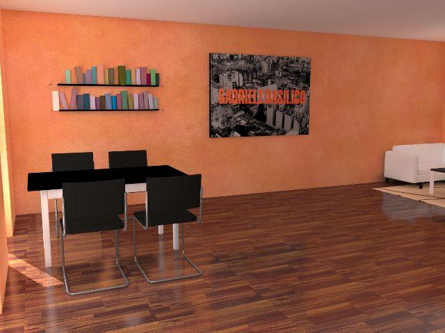 Haus mit Pultdach Trendhaus 02 - Essbereich