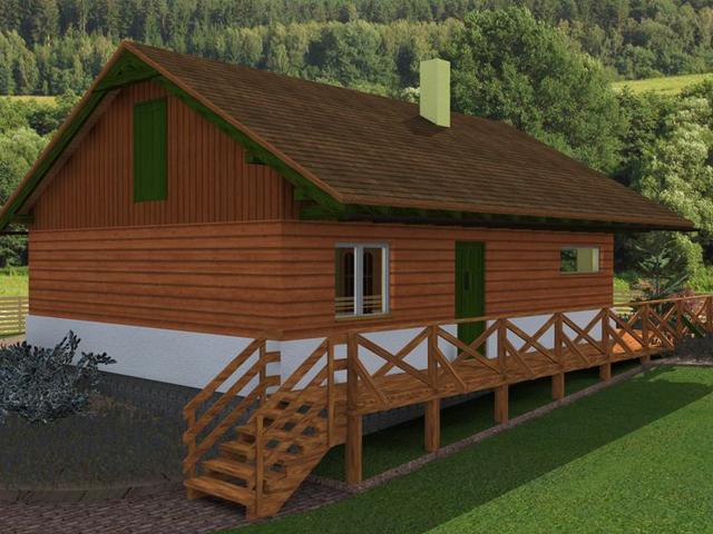 Ferienhaus Waldi - Aussenansicht (2)