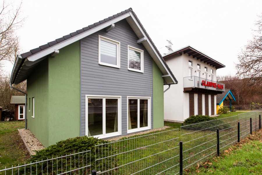 Einfamilienhaus als Fertighaus aus Holz